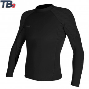 Go to the product Wetsuit O'Neill Hyperfreak 1,5 L/S Top black/black 2020