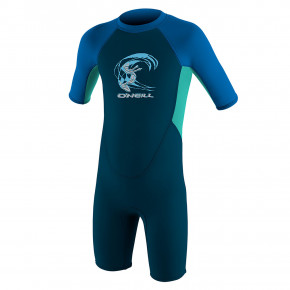Przejść do produktu Pianka neoprenowa O'Neill Toddler Reactor B II 2mm BZ S/S slate/light aqua/ocean 2020