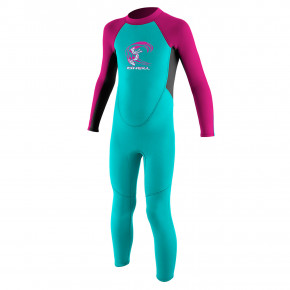Go to the product Wetsuit O'Neill Toddler Reactor G II 2mm BZ Ful light aqua/graphite/berry 2020