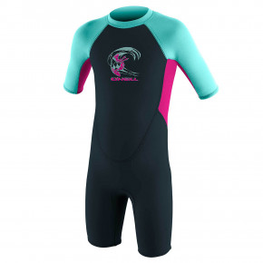 Go to the product Wetsuit O'Neill Toddler Reactor G II 2mm BZ S/S slate/berry/seaglass 2020