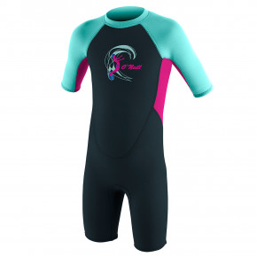 Go to the product Wetsuit O'Neill Toddler Reactor Ii Bz S/s Spr G. slate/berry/seaglass 2019