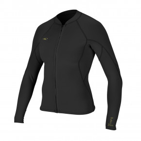 Go to the product Wetsuit O'Neill Wms Bahia 1/0.5Mm Fz Jacket glide black/black/black 2019