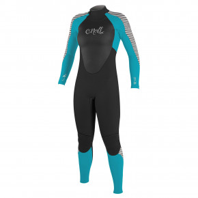 Go to the product Wetsuit O'Neill Wms Epic Bz 4/3 Full black/capri breeze/highway strip 2018