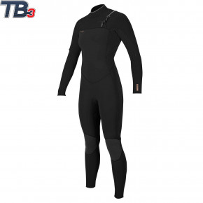 Go to the product Wetsuit O'Neill Wms Hyperfreak 5/4+ CZ Full black/black 2020