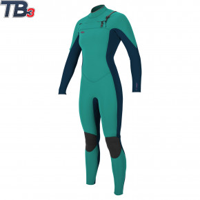 Go to the product Wetsuit O'Neill Wms Hyperfreak Cz 4/3 Full light aqua/slate 2018