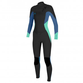 Go to the product Wetsuit O'Neill Wms O'riginal F.u.z.e. 3/2 black/seaglass/dusty blue 2018
