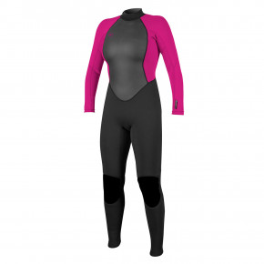 Go to the product Wetsuit O'Neill Wms Reactor II 3/2 Full black/berry 2020