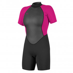 Go to the product Wetsuit O'Neill Wms Reactor II Bz 2Mm S/s Spring black/berry 2019
