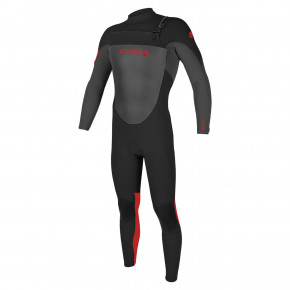Go to the product Wetsuit O'Neill Youth Epic B. 4/3 CZ Full black/graphite/red 2020