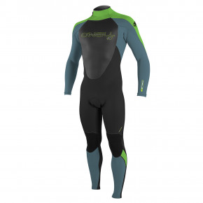 Go to the product Wetsuit O'Neill Youth Epic Bz 5/4 Boys black/dusty blue/dayglo 2018