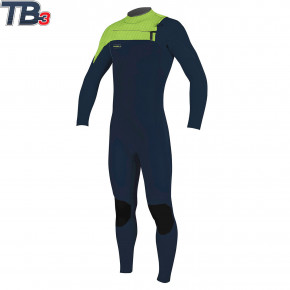 Go to the product Wetsuit O'Neill Youth Hyperfreak 4/3+ CZ Full abyss/abyss/dayglo 2020