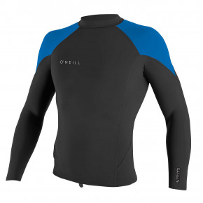 Go to the product Wetsuit O'Neill Youth Reactor II 2mm L/S Top black/ocean/white 2020