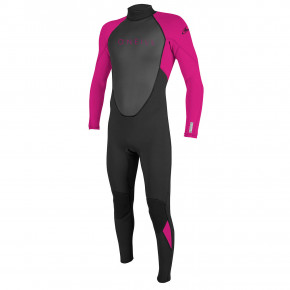 Go to the product Wetsuit O'Neill Youth Reactor II BZ 3/2 Full black/berry 2018