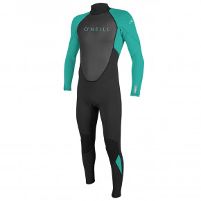 Go to the product Wetsuit O'Neill Youth Reactor II Bz 3/2 Full black/light aqua 2019