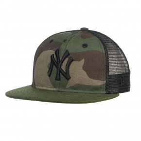 Přejít na produkt Kšiltovka New Era New York Yankees 9Fifty Trucker washed green camo 2018