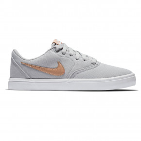 Go to the product Sneakers Nike SB Check Solarsoft Canvas wolf grey/mtlc red bronze-white 2019