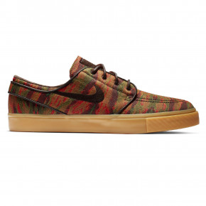 Go to the product Sneakers Nike SB Zoom Stefan Janoski Canvas multi-color/velvet brown-gum yll 2019