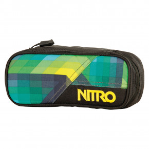Go to the product School case Nitro Pencil Case geo green 2019