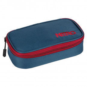 Go to the product School case Nitro Pencil Case Xl blue steel 2019