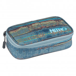 Go to the product School case Nitro Pencil Case Xl frequency blue 2019