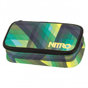 Go to the product School case Nitro Pencil Case Xl geo green 2018/2019
