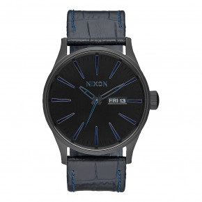 Go to the product Watch Nixon Sentry Leather navy gator 2017