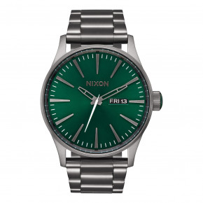 Go to the product Watch Nixon Sentry Ss all gunmetal/ green sunray 2017