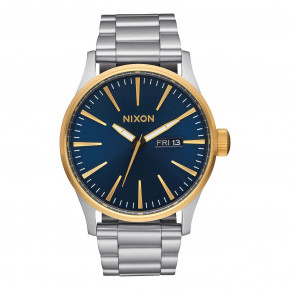 Go to the product Watch Nixon Sentry Ss gold/blue sunray 2017