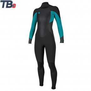 Go to the product Wetsuit O'Neill Wms O'riginal 5/4 Back Zip Full black/graphite/capri breeze 2018