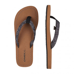 Go to the product Flip-Flops O'Neill Woven Strap black aop/white 2019
