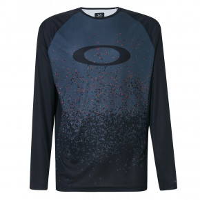 Go to the product Bike jersey Oakley Mtb Ls Tech Tee grey pixel print 2020