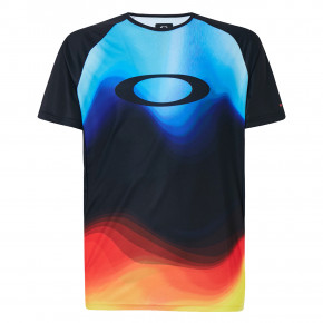 Go to the product Bike jersey Oakley Mtb Ss Tech Tee multicolor gradient 2020