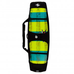 Go to the product Board Bag Hyperlite Rubber Wrap Bag black/teal/fluoro 2019
