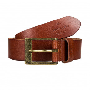 Go to the product Belt Quiksilver Slim Premium Leather chocolate brown 2019