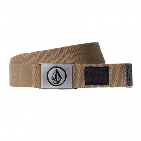 Go to the product Belt Volcom Circle Web sand brown 2018