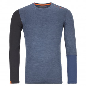 Přejít na produkt Ortovox 185 Rock'n'wool Long Sleeve night blue blend 2019/2020