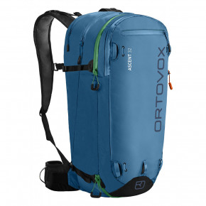 Go to the product Snowboard backpack Ortovox Ascent 32 blue sea 2017/2018