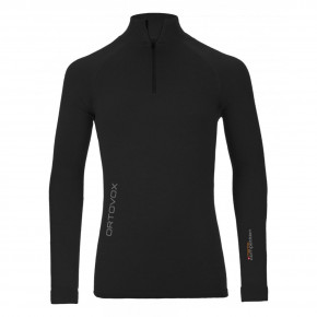 Go to the product Top Ortovox Competition Long Sleeve Zip Neck black raven 2017/2018