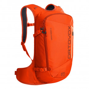Go to the product Snowboard backpack Ortovox Cross Rider 22 burning orange 2020/2021