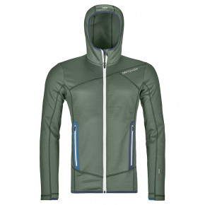 Go to the product Tech Hoodie Ortovox Fleece Hoody green forest 2019/2020