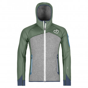 Go to the product Tech Hoodie Ortovox Fleece Plus Hood green forest 2019/2020
