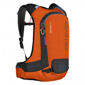 Go to the product Snowboard backpack Ortovox Free Rider 18 L crazy orange 2017/2018