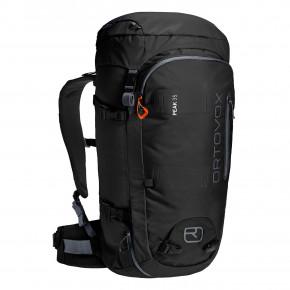 Go to the product Snowboard backpack Ortovox Peak 35 black raven 2020/2021