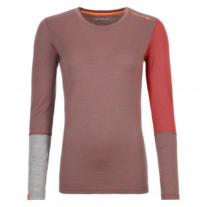 Go to the product Top Ortovox Wms 185 Rock'n'wool Long Sleeve blush blend 2019/2020