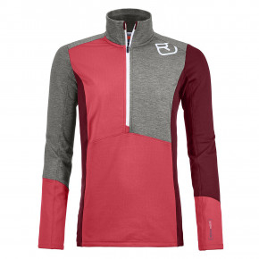Przejść do produktu Bluza Ortovox Wms Fleece Light Zip Neck hot coral 2019/2020
