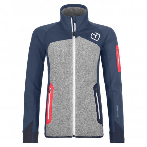 Go to the product Tech Hoodie Ortovox Wms Fleece Plus Jacket night blue 2019/2020