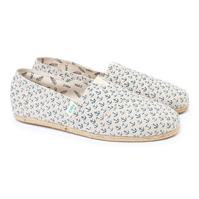 Go to the product Slip-On Paez Original Raw Print W anclas blue-linen 2017