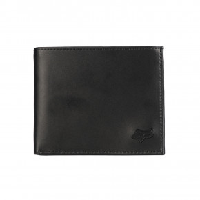Go to the product Wallet Fox Bifold Leather black 2019
