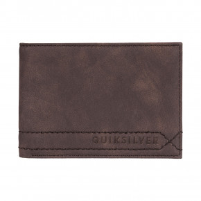 Go to the product Wallet Quiksilver Stitchy V chocolate brown 2019