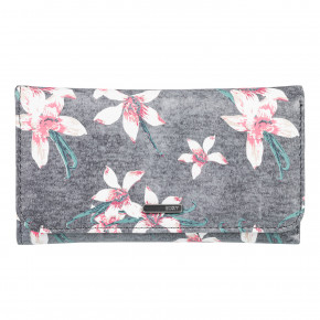 Go to the product Wallet Roxy My Long Eyes charcoal heather flower field 2018